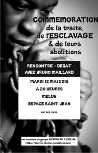 Esclavage - Débat 12 mai 2015 - Tract A5 RV - VDEFsolo